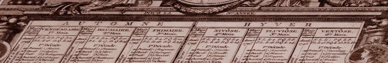 Le Calendrier Revolutionnaire.Calendrier Republicain Conversion Vers Calendrier Gregorien